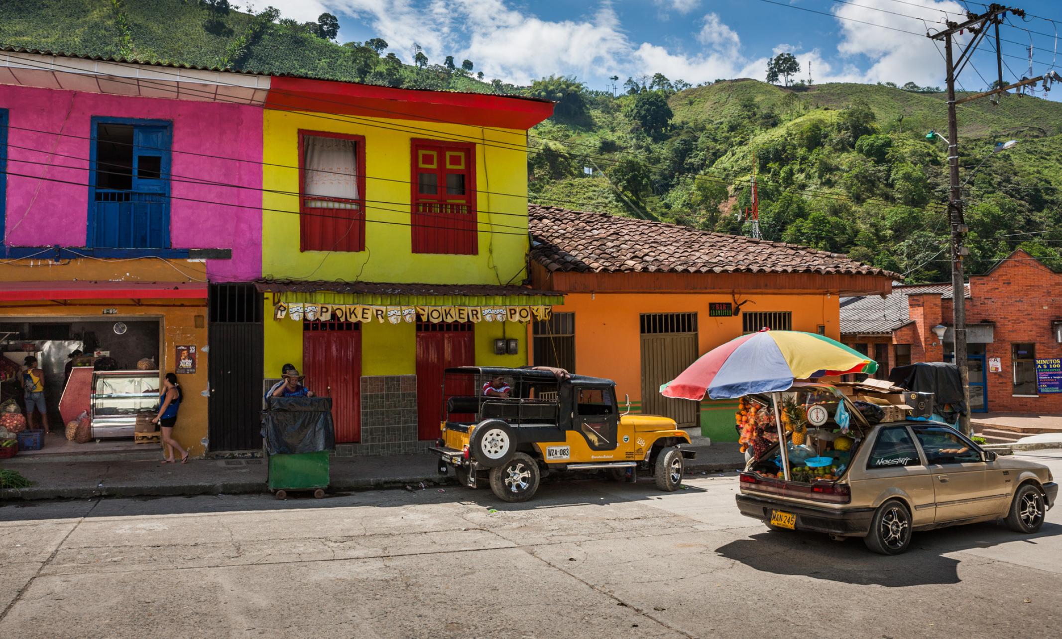 Uppdragsfotografering på kaffeplantage i Colombia