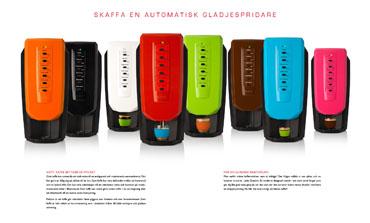 JEDE Quattro – lansering av en glad kaffemaskin